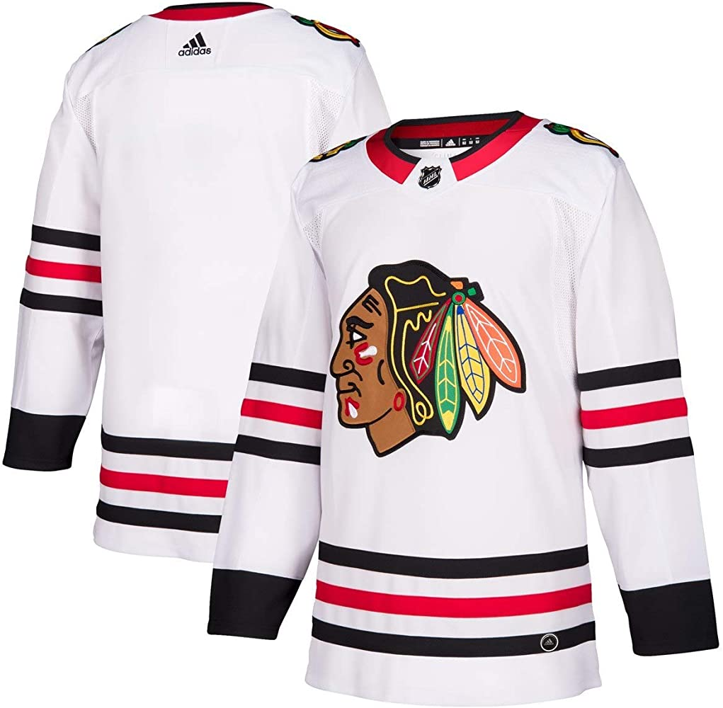 adidas Jersey Blackhawks Authentic Road Size 54