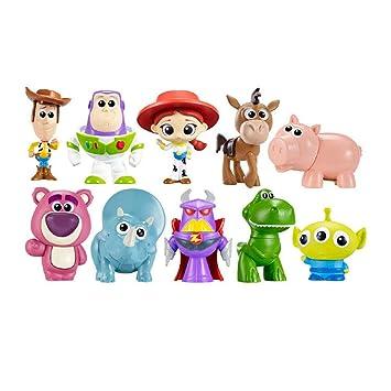 EASTVAPS 10 Piezas Toy Story Woody Buzz Light Year Mini Figura Decoración Muñeca