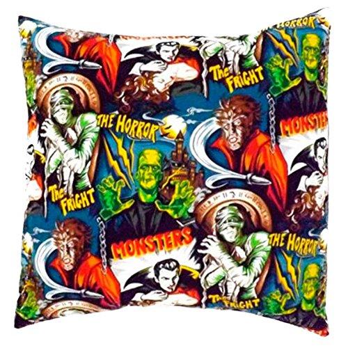 Hemet Monsters Envelope Throw Pillow Cover by Hemet