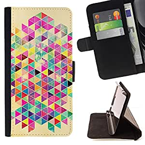 Jordan Colourful Shop - rat colorful poster pattern For Apple Iphone 6 - Leather Case Absorci???¡¯???€????€?????????&Atil