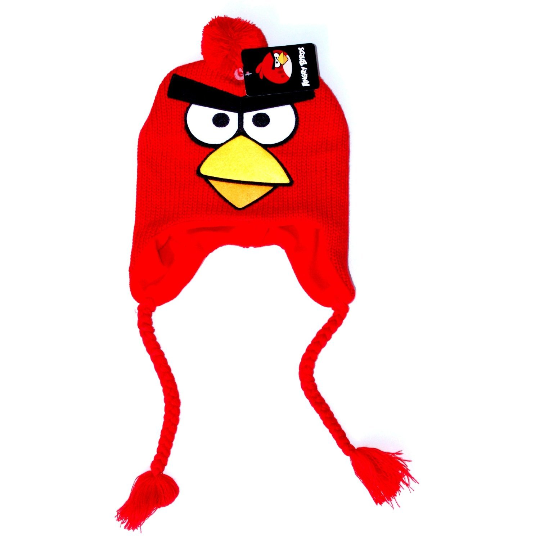 Laplander Beanie Cap Angry Birds Red Bird Big Face Anime Hat f11an7190b