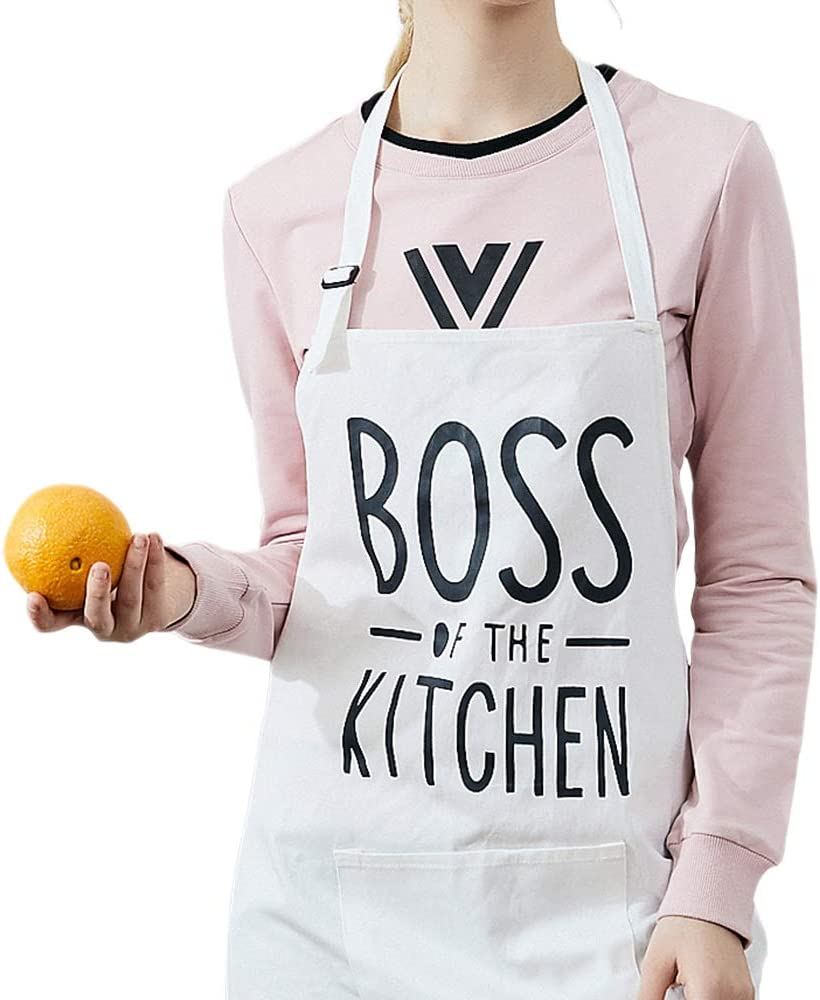 dfhfds California Aprons for Women//Men Gag Gift Barbecue Personalized Attitude Funny Chef Apron Waiter apron