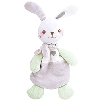 Amazon Com Zooawa Baby Bunny Blanket Soft Stuffed Animal Bunny