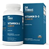 Dr Tobias Vitamin D3 - 5000 IU of Vitamin D-3 (90 Count)