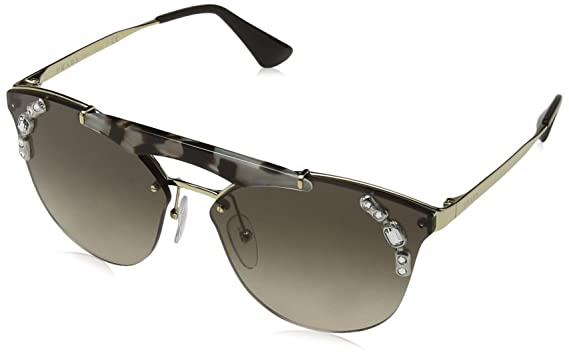 32b10fc75c Amazon.com  Prada Women s PR 53US Sunglasses 42mm  Clothing