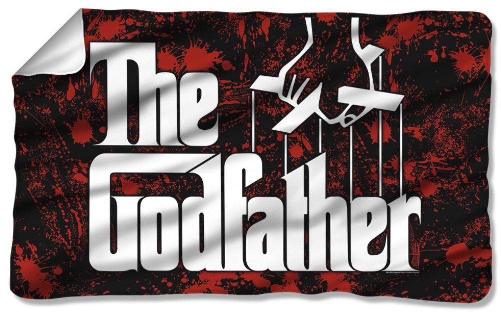 Godfather - Logo Fleece Blanket 57 x 35in