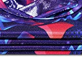 BAOHULU Girls Gymnastics Leotards Shiny Spliced