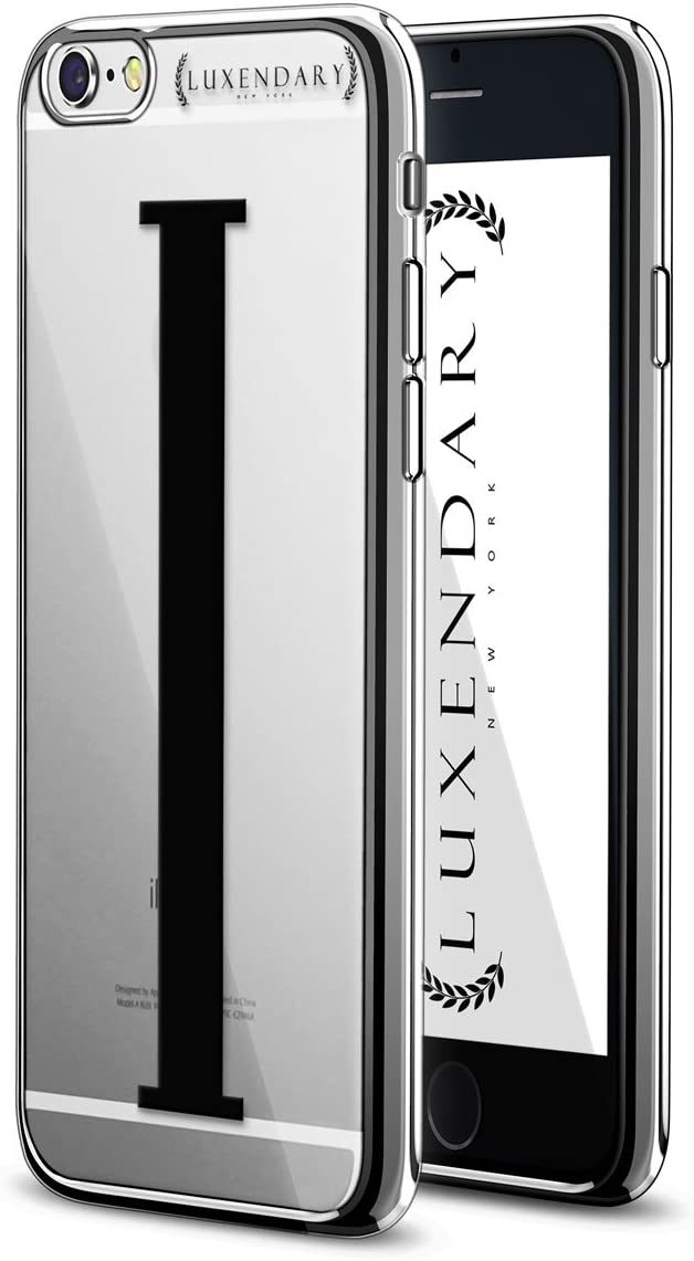 Luxendary Black Initial I3 Design Chrome Series Case For IPhone 6/6S - Chrome / Silver