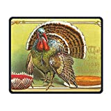 Turkey Day Smooth Nice Personality Design Mobile Gaming Mouse Pad Work Mouse Pad Office Pad