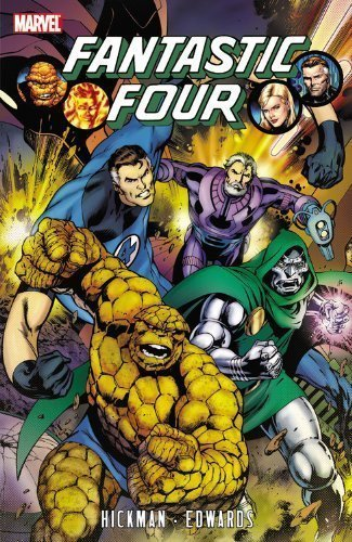 Fantastic Four by Jonathan Hickman, Vol. 3 by Hickman, Jonathan [Paperback(2011/4/6)]