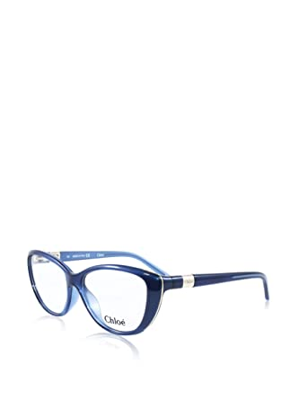 3d1e607373a Eyeglasses CHLOE CE 2601 424 BLUE at Amazon Men s Clothing store