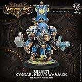 Warmachine Cygnar Stormclad / Reliant Heavy Warjack Box
