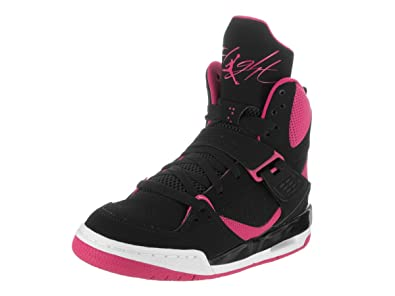 buy popular dc6d2 bf306 Nike Jordan Flight 45 High IP GG - Baskets Fille, Noir, 37.5