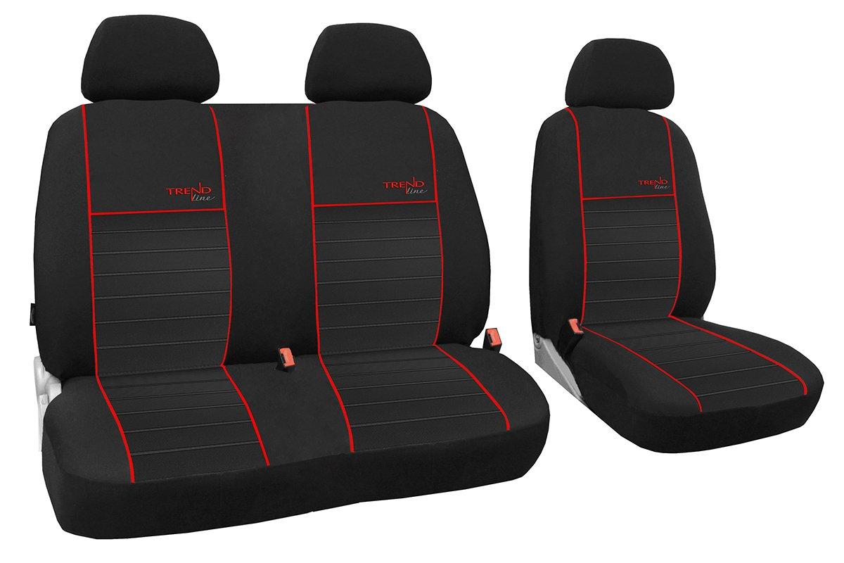 Trend Line Busbezü ge 1+2 Passend fü r FIAT DUCATO Zum Sonderpreis!!! in Diesem Angebot Rot (in 6 Farben Bei Anderen Angeboten erhä ltlich) POK-TER