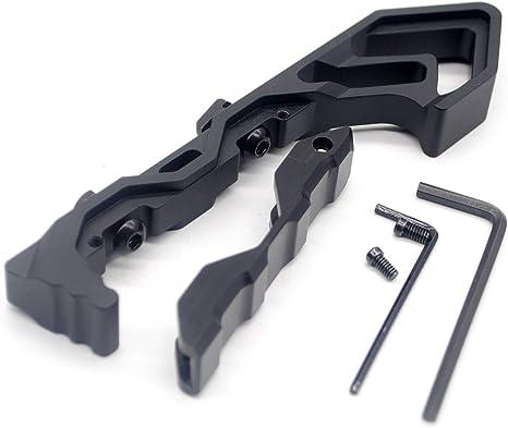 Angled ForeGrip Keymod handguard handstopLight grip//QD Sling Swivel Mount