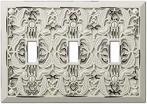 Amerelle 65TTTAW Wallplate, Antique White