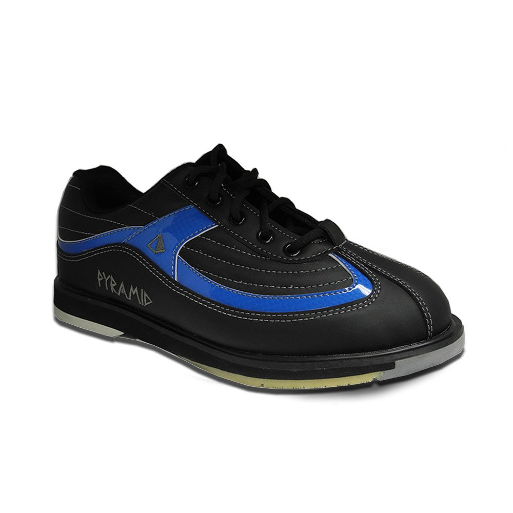 Pyramid Men's Ra SS Black/Blue Right Handed Bowling Shoes by Pyramid