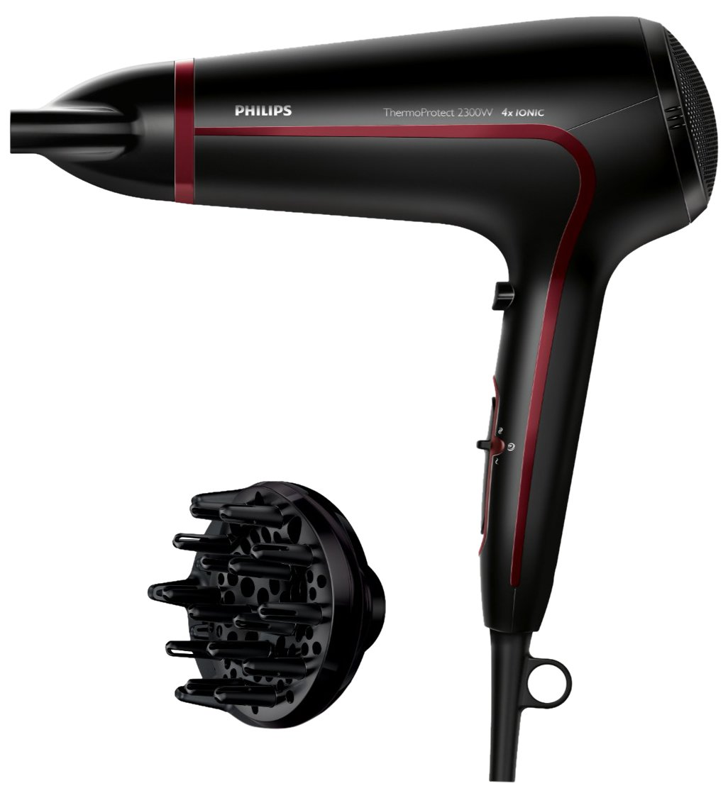 Philips Thermoprotect HP8238/10 Secador de Pelo, Negro y Rojo, 2300 W product image