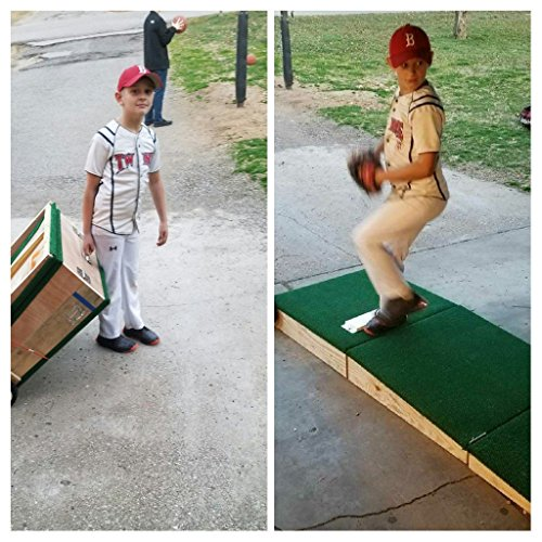 Pitching Mound (Players Choice Mounds Portable Pitching Mound for Youth Baseball! Easy Set up and roll Around!)