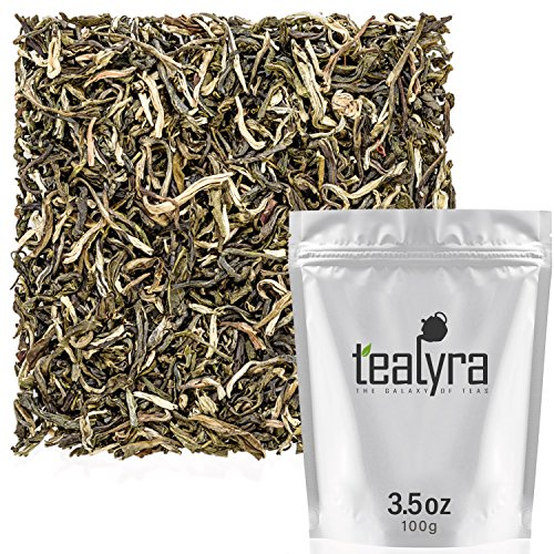 Tealyra - Jasmine Yin hao - Loose Leaf Green Tea - Premium Chinese Tea - High in Antioxidants - Organically Grown - Caffeine Medium - 100g (3.5-ounce)