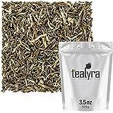 Tealyra - Jasmine Yin hao - Loose Leaf Green Tea - Premium Chinese Tea - High in Antioxidants - Organically Grown - Caffeine Medium - 100g (3.5-ounce)