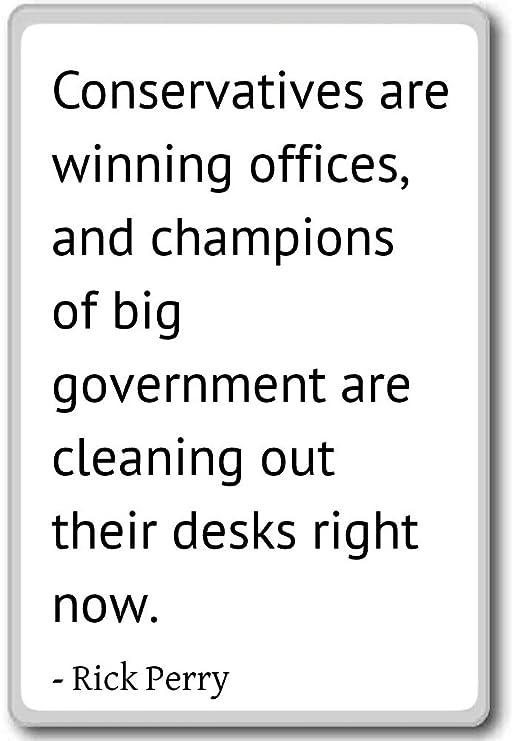 Imán para nevera con citas de Rick Perry, Blanco: Amazon.es: Hogar