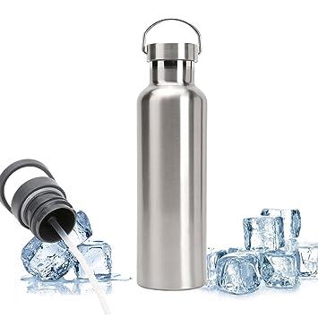 DKASA Bottle - Botella de Agua Acero Inoxidable Termica ...