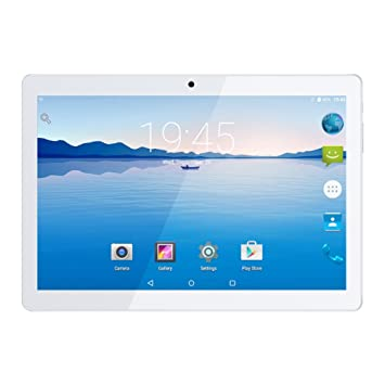 Kivors 10.1 pulgadas IPS HD 4G Tablet PC Quad-Core Ranura para tarjeta Dual Sim Doble cámara Ultra Slim Tablet PC WIFI GPS Google Play Store Bluetooth ...