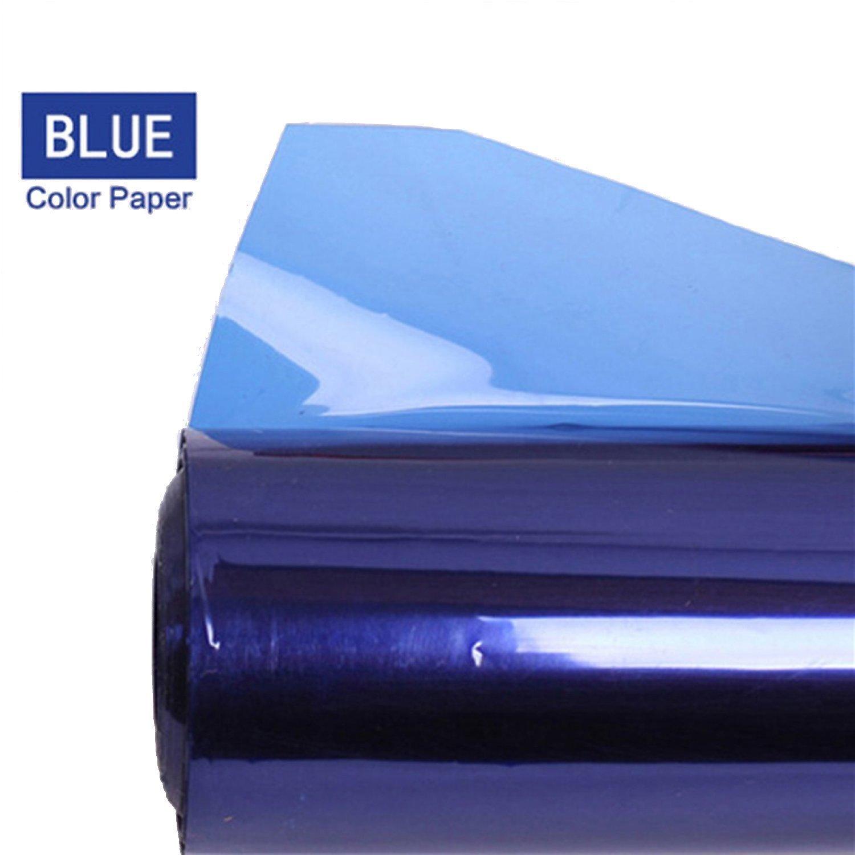 スタジオライトレッドヘッドライトブルー用Selens 40 * 50 cmゲルカラーフィルターペーパー   B01MS8M23Y