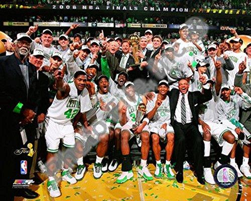 2007-2008 Boston Celtics NBA Finals Champions Photo 10 x 8in