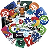 Rapidotzz Laptop Stickers Technology 50 pcs Variety Vinyl Car Sticker Motorcycle Bicycle Luggage Decal Graffiti Patches Skateboard Cool Stickers (for Software Employees)- 50 pcs
