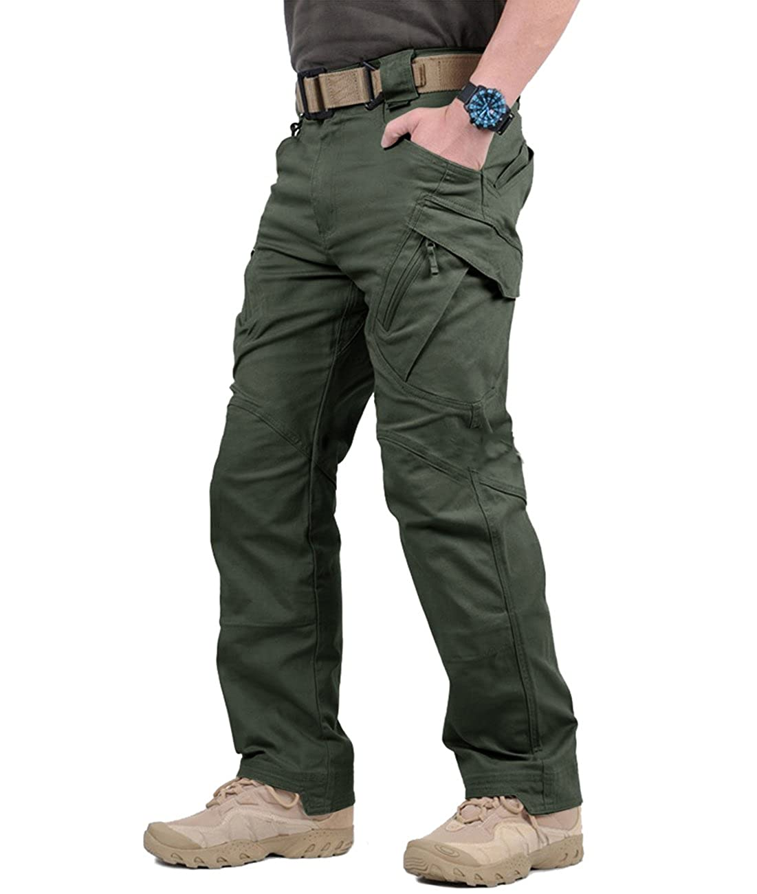 TACVASEN Men's Outdoor Tactical Pants Lightweight Assault Cargo XLTP-59