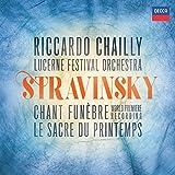 Stravinsky: Chant Funebre/Le Sacre Du Printemps