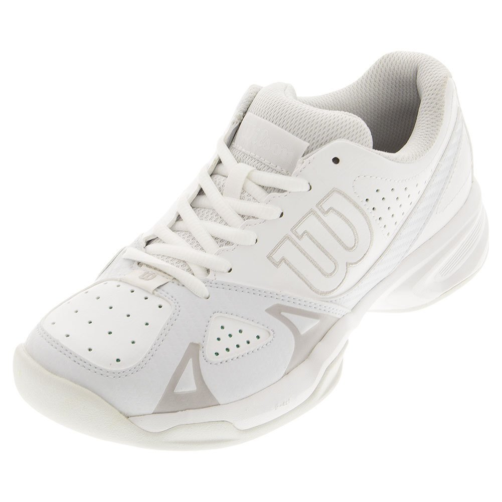Wilson Womens Rush Open 2.0 B015S3F9AY 8.5 B(M) US|White/Ice Gray