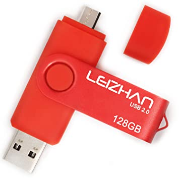 Amazon.com: LEIZHAN 32 GB OTG USB Flash Drive 64GB128GB ...