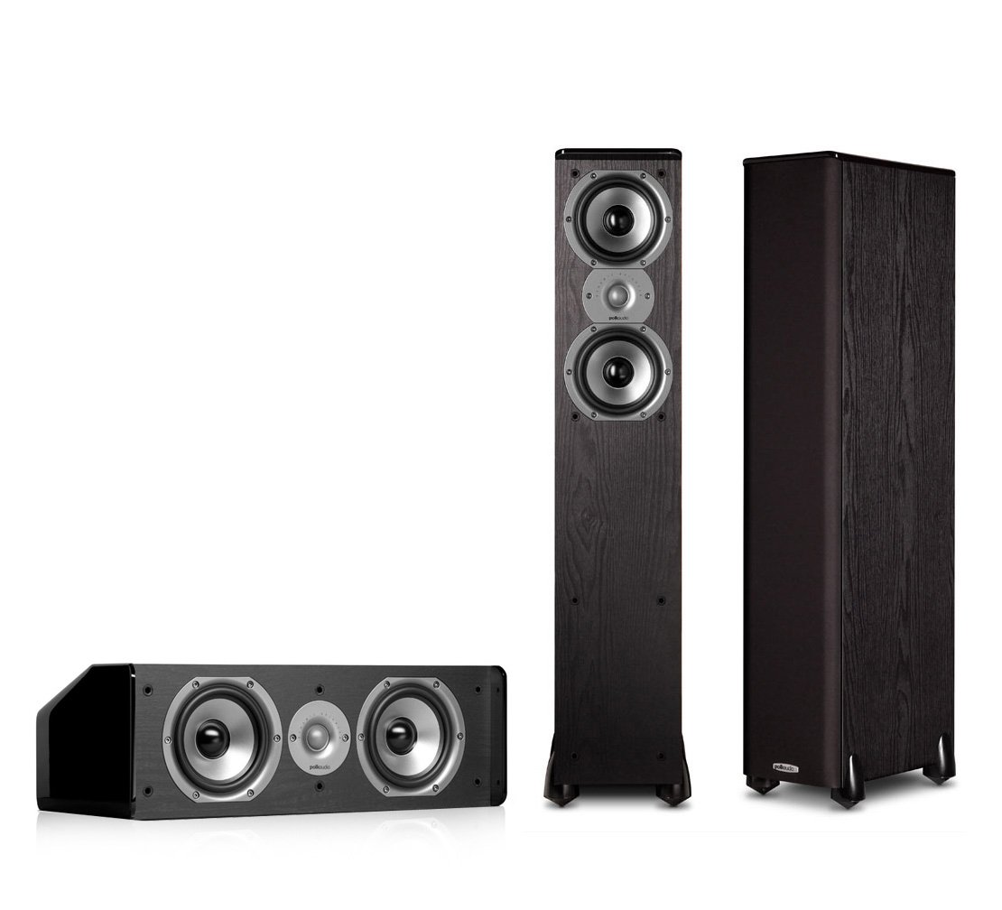 Polk Audio TSi300 3.0 Home Theater Speaker Package (Black)