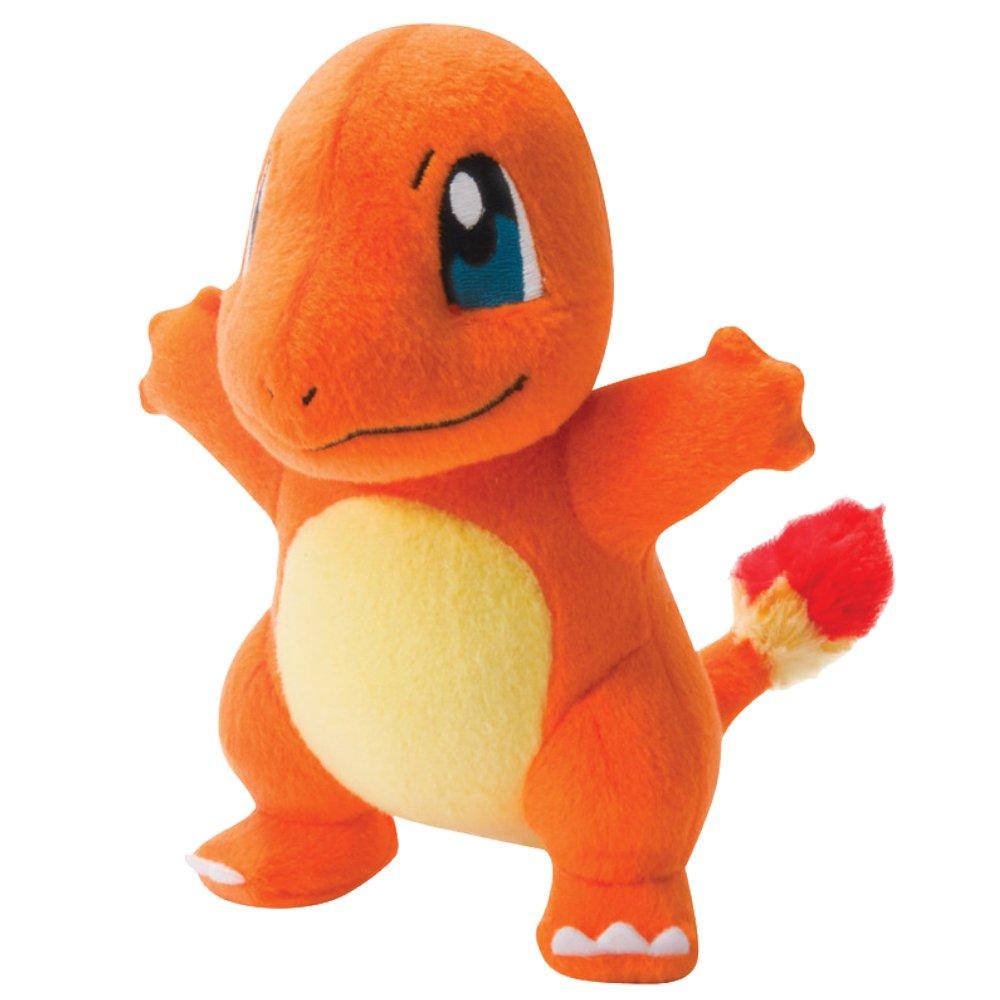Pokèmon t18536charmandernew–Charmander 20cm Peluche con licencia oficial Pokemon