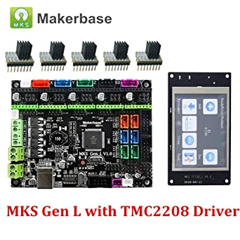 4 layers PCB Controller Board MKS Gen V1.4 with MKS TFT32 V3.0 Screen Compatible Ramps1.4//Mega2560 R3 for 3D Printer Parts
