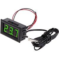 Fogun - Termómetro digital LED de 5 a