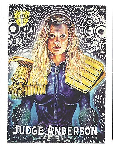 Judge ANDERSON Dredd The Epics Movie Promo Card 1995 Edge ()