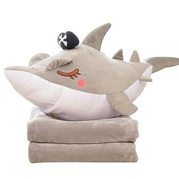 Amazon.com: CN dragon pirata tiburón cojines almohadas ...