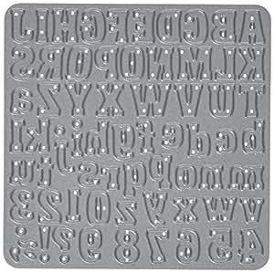 Die-Versions Fonts Little Lizzie - Plantilla de tipografía para troquelado