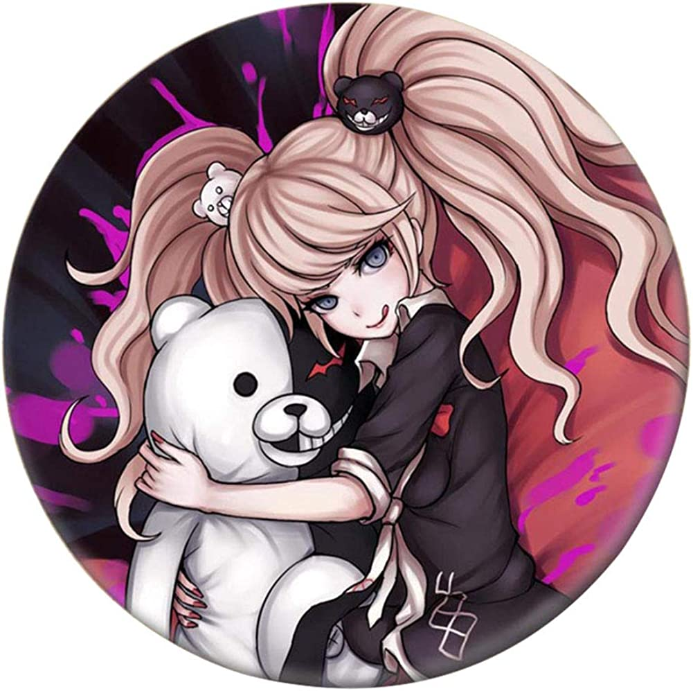 Gift Backpack Fuguan Danganronpa Button Pins Set Anime Brooch Pin Cosplay Costume Accessories for Clothes