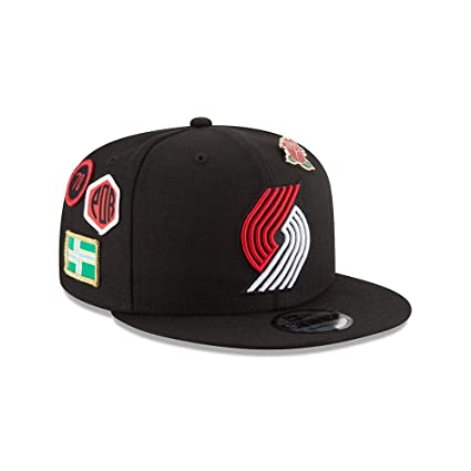 Image Unavailable. Image not available for. Color  New Era Portland Trail  Blazers 2018 NBA Draft Cap 9FIFTY Snapback Adjustable Hat- Black 9e6dfa19f5a1