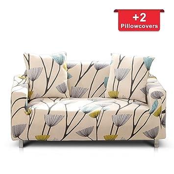 Amazon.com: Hipinger - Funda de sofá elástica de tela de ...
