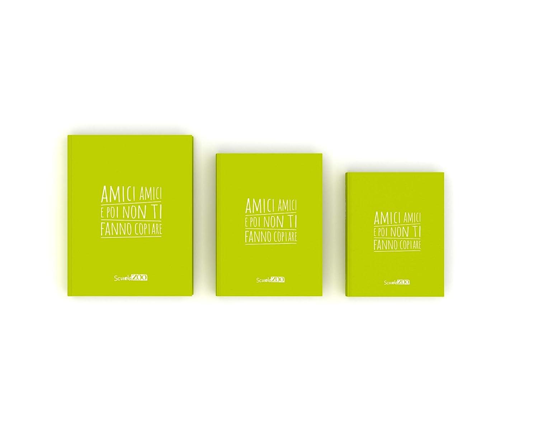 ScuolaZoo Agenda Diario Scolastico 2019 2020 con Meme divertentissimi e Tanti Adesivi Disponibile in 6 Colori e 3 Dimensioni Azzurro, Pocket