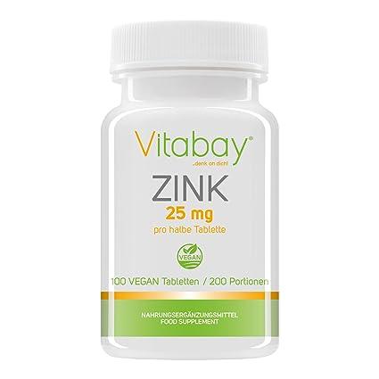 Cinc 50 - Cinc 50 mg (contenido elemental) - Citrato de zinc de alta