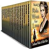 Mail Order Bride 22 Book Mega Box Set: 22 Brides Ride West for Love: Clean Western Historical Romanc