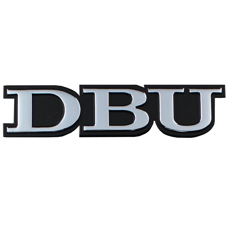 Stockdale Dallas Baptist University METAL Auto Emblem