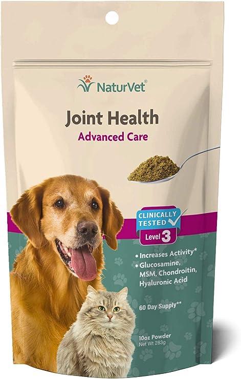Garmon Corporation/Naturvet Joint Health Level-3 Powder Bag 60 Day 10 Oz